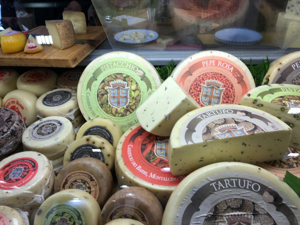 Käse in Hülle und Fülle