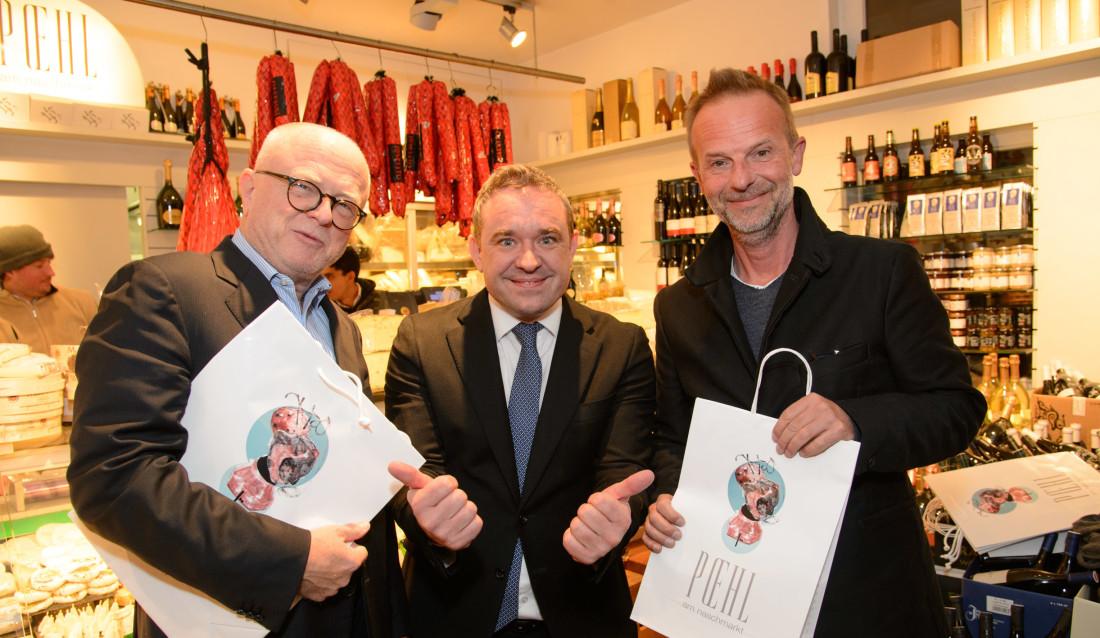 2nd limited edition Tragetasche von Poehl am Naschmarkt